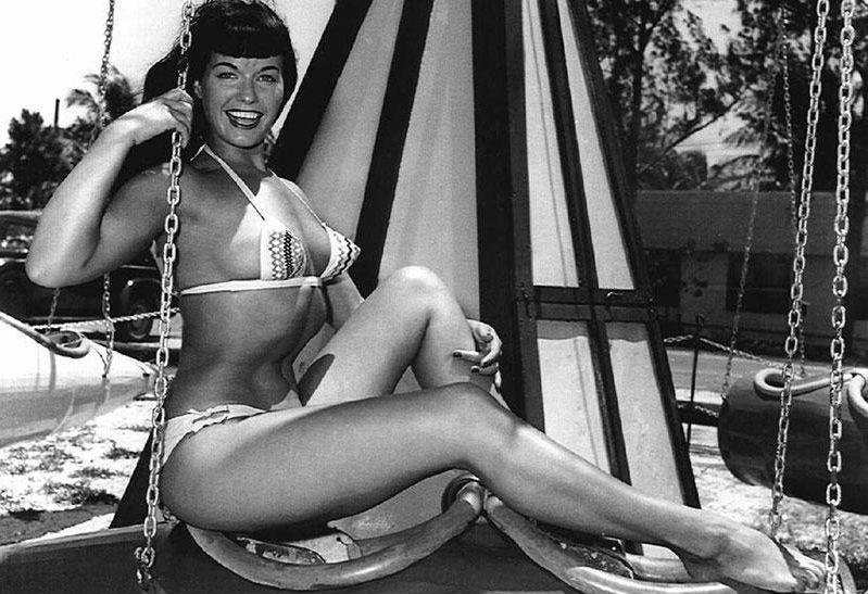 Бетти Пейдж — секс-символ 50-х — и ее последовательницы