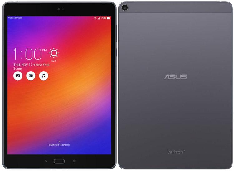 Asus анонсировала планшет ZenPad Z10 на чипсете Snapdragon 650
