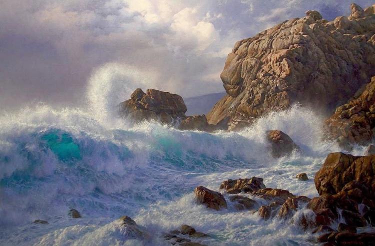 Художник Andrew Tischler. Сказка на берегах Австралии