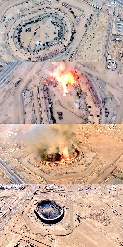 Взрыв склада боеприпасов в Дейр-эз-Зоре