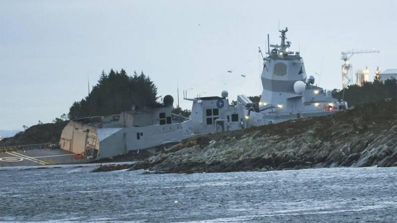 Учения НАТО в Норвегии: они таки утопили свой фрегат