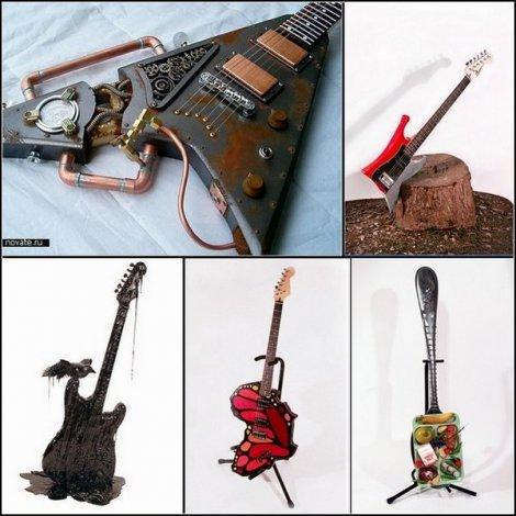 Ах, гитары! Ах, дизайн!