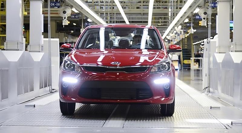 В России стартовало серийное производство нового KIA Rio