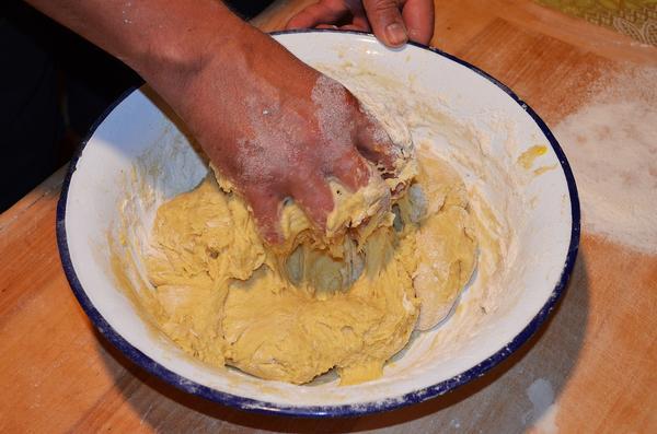 Ставим тесто на пироги