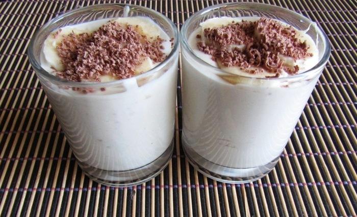Творожно-банановый крем Рецепт, Видео, Десерт, Творожный крем