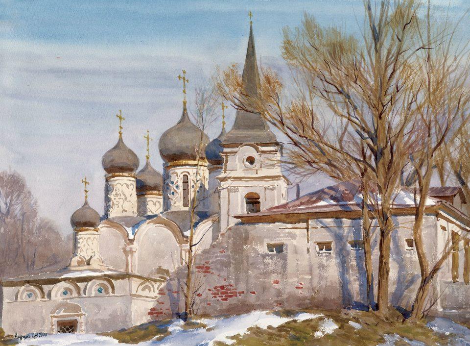 Акварельные пейзажи Сергея Андрияки