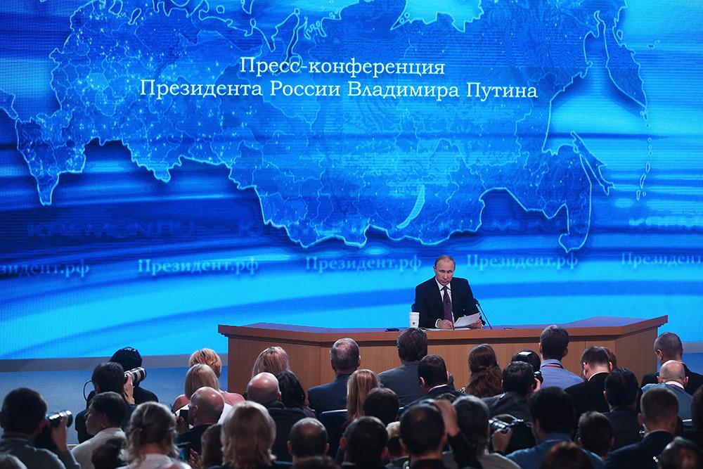 Путин перенес пресс-конференцию в связи с похоронами российского посла