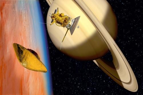 Базы инопланетян обнаружены на Титане