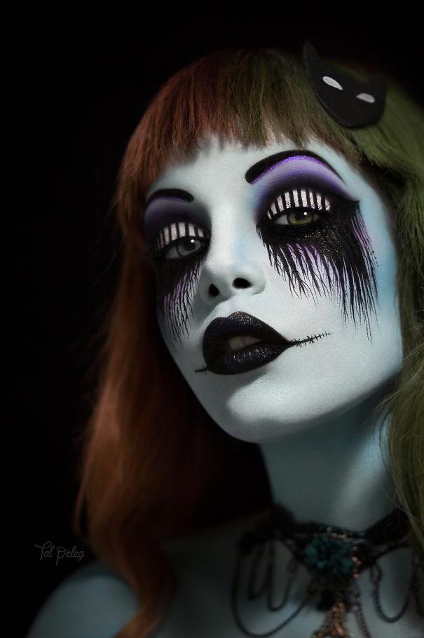 10 изумительных идей для макияжа глаз на Хэллоуин