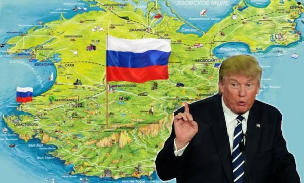 Трамп опозорился очередным высказыванием о Крыме