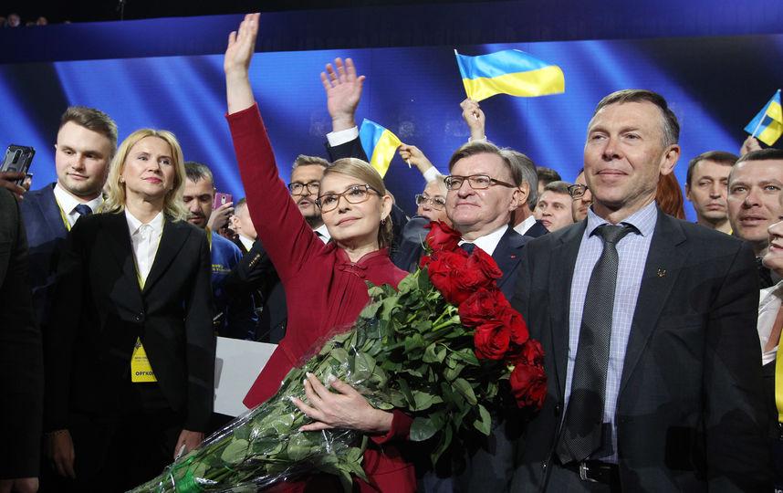 Юлия Тимошенко выдвинута кандидатом в президенты Украины