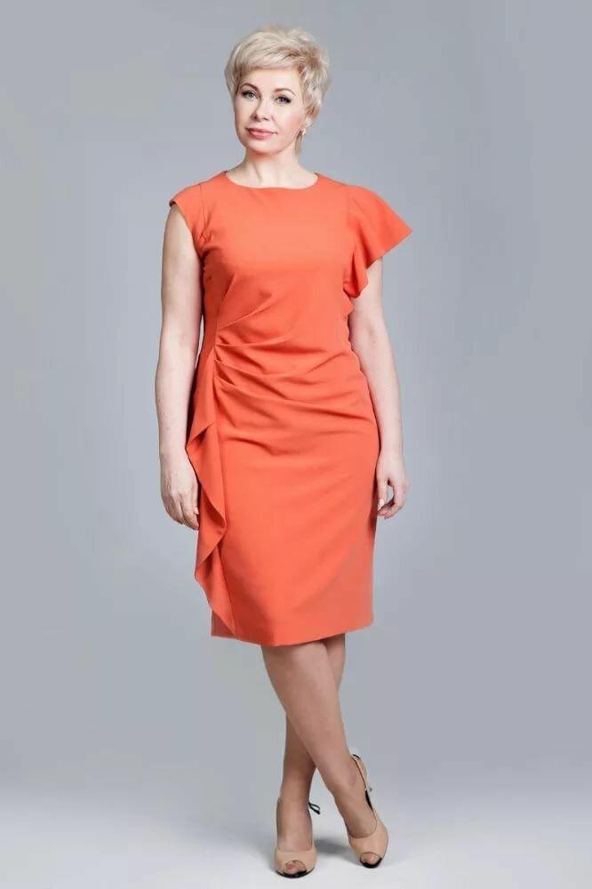 Взрослая женщина в платье. /Фото: i.pinimg.com
