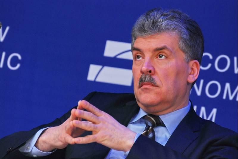 Многоходовки Путина: зачем Кремль раскручивает Грудинина