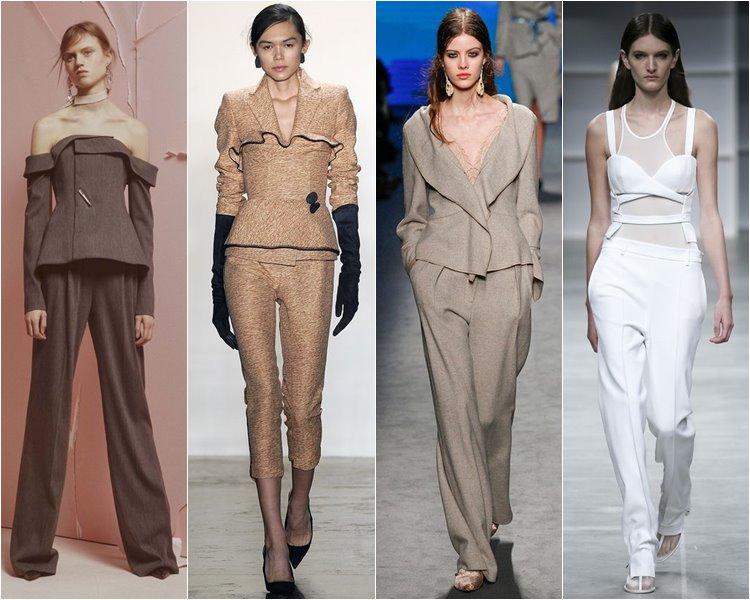 Модные Женские Костюмы