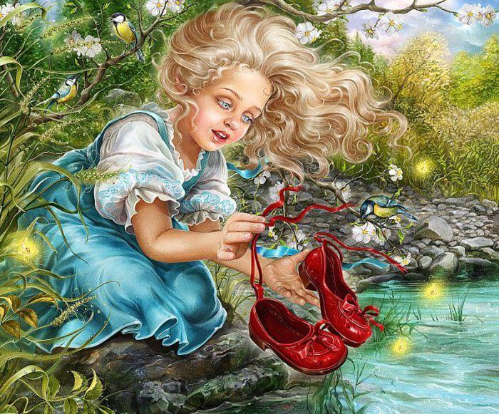 Удивительный мир сказки волшебные иллюстрации Инны Кузубовой