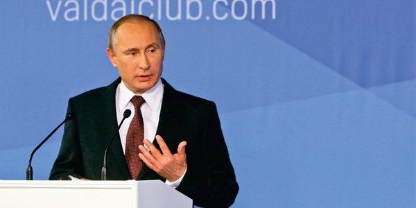 Жесткая речь Владимира Путин…