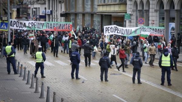 Граждане Болгарии протестуют против высоких цен икоррупции