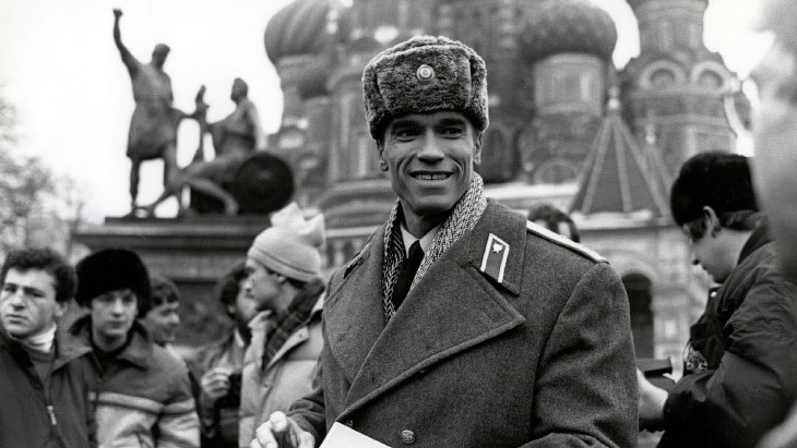 Арнольд Шварценеггер в СССР