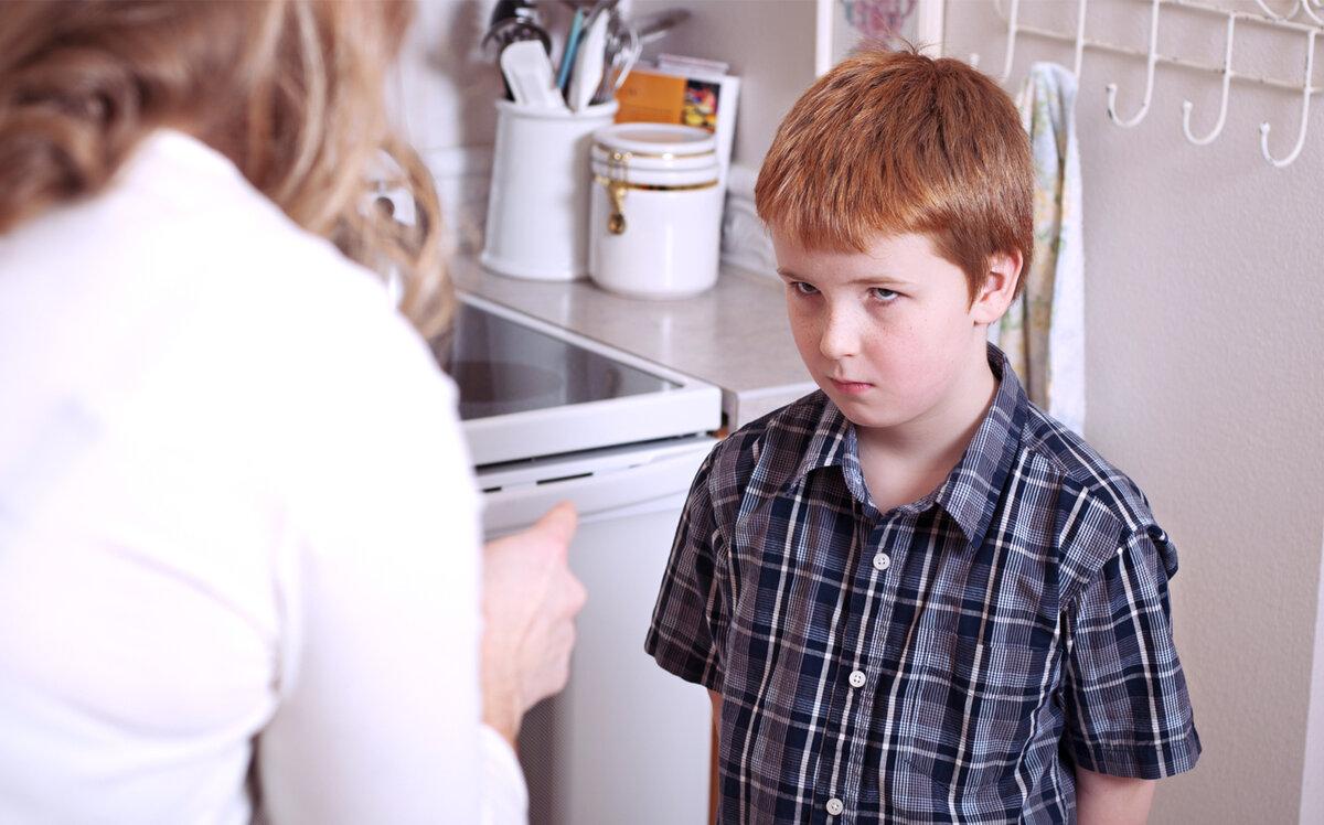 Провинившийся ребёнок. Источник: istockphoto.com/ru