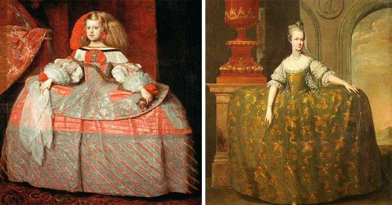 Платье мантуя: роскошное, но ужасно неудобное изобретение галантного века
