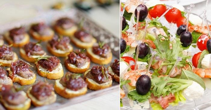 Рецепты праздничных закусок к новогоднему столу