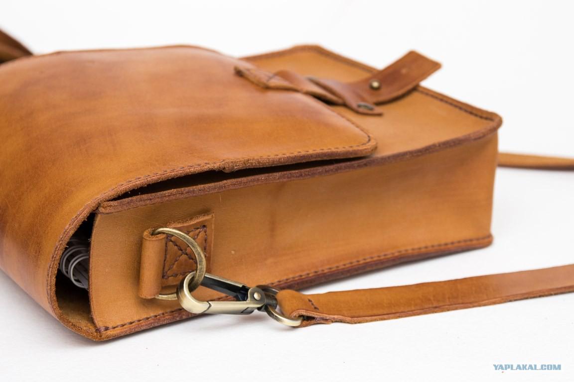 Кожаная сумка своими руками фото