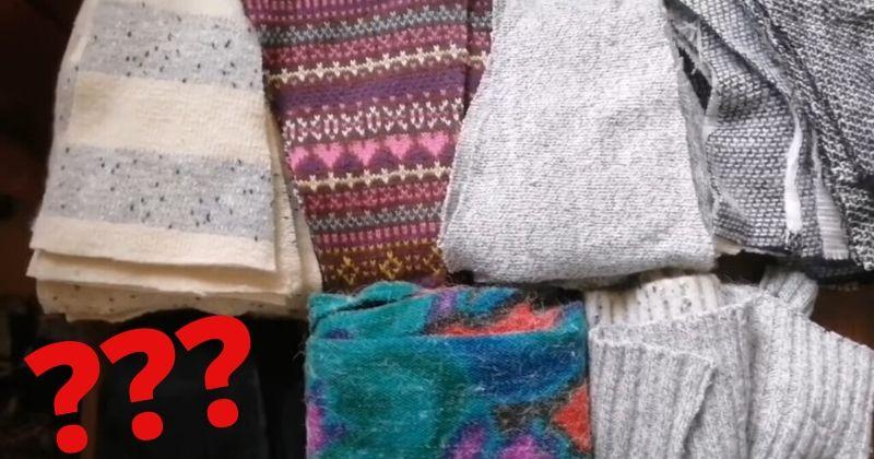 Шикарная идея, куда и как использовать одежду, которая не носится