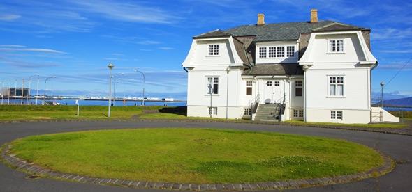 МИР ВОКРУГ. Достопримечательности Исландии. Дом Хёвди