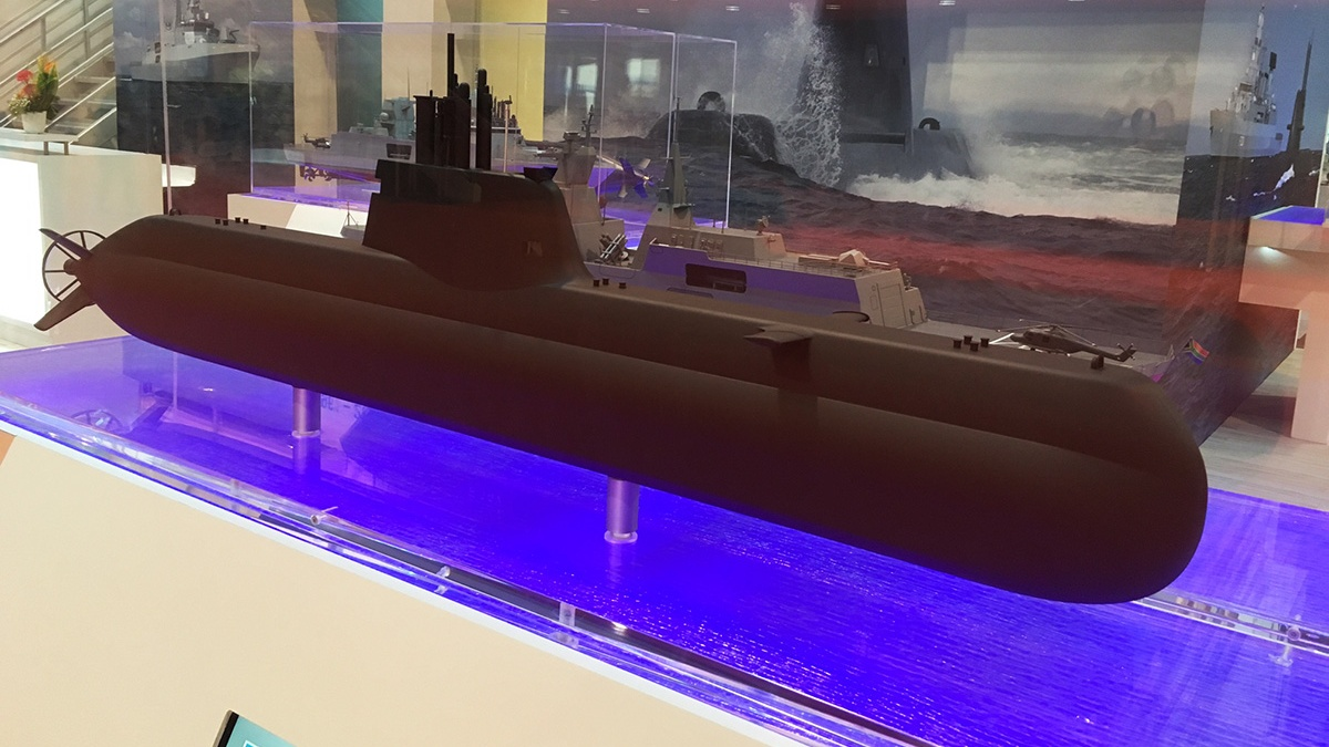Сингапур заказал в Германии еще две подводные лодки проекта 218SG