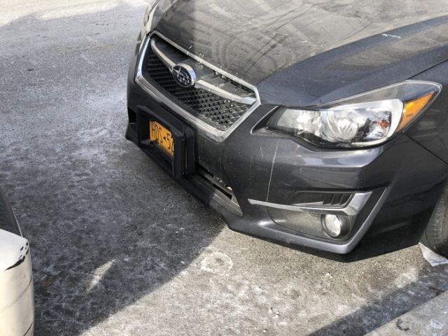 """- Мадам паркуется по слуху? Защита от """"контактной парковки"""""""