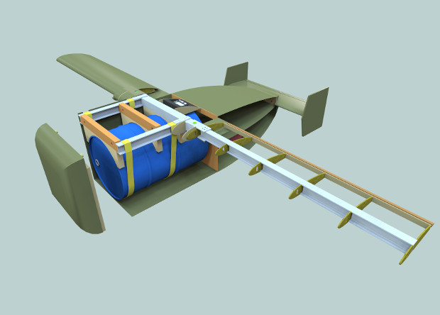 Морпехи доверят доставку грузов деревянным беспилотникам