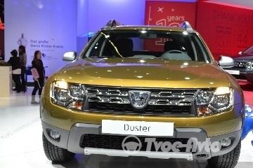 Новое поколение Duster: семиместная версия и новые двигатели