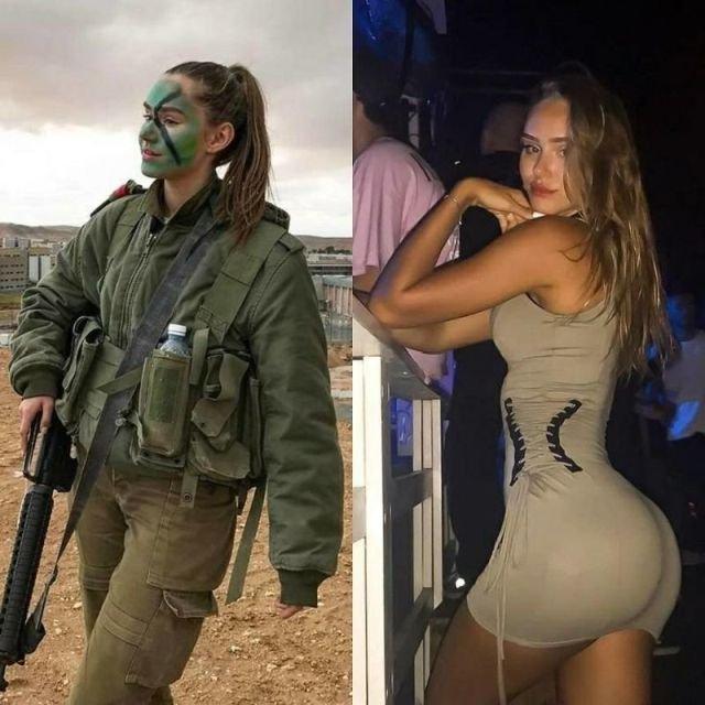 Очаровательные девушки в форме и без (28 фото)
