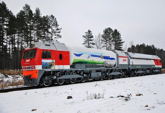 Новый российский газотурбовоз ГТ1h-002 готов к серийному производству