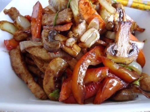Куриное филе с овощами. Сочно и вкусно!