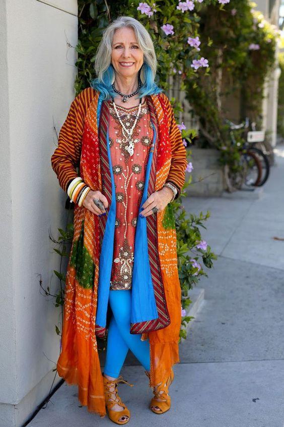 19 фото, доказывающих, что стиль Бохо — лучший для зрелых дам
