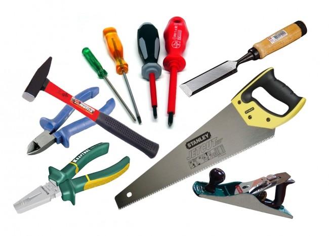 Основные инструменты для изготовления мельницы