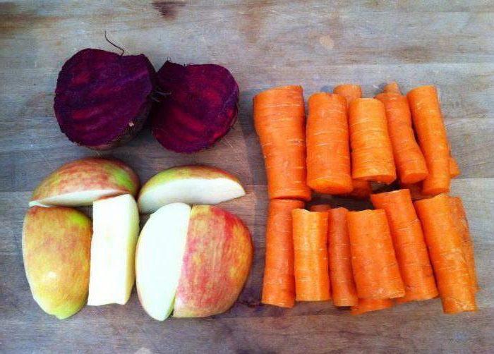 1 свекла, 2 моркови, 1 яблоко – Рецепт от известного китайского диетолога