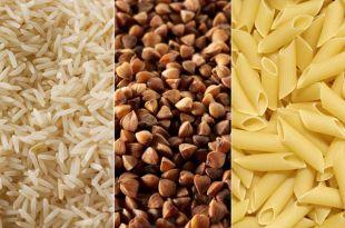 Что полезнее для здоровья: рис, гречка или макароны?