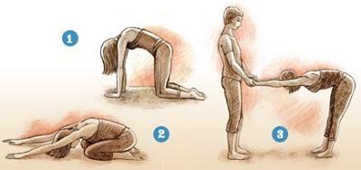 Комплекс йоги для коррекции сколиоза