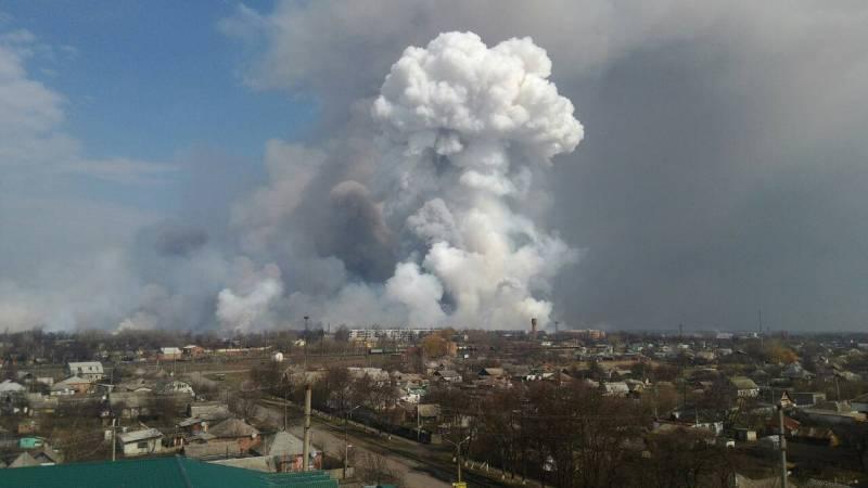 Взрывы складов с боеприпасами на Украине, наконец, ударили по самой армии