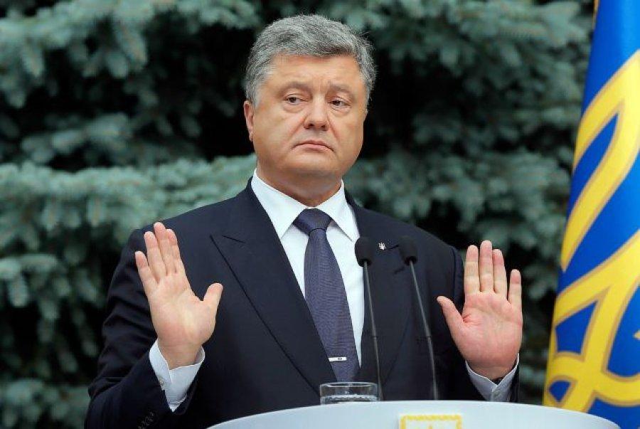 Отрицая очевидное. Порошенко доказывает, что коррупция не угроза Украине