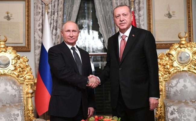 ВМоскве 23января состоятся переговоры президентов России иТурции