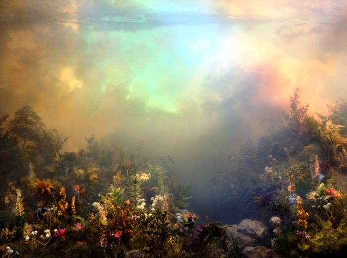 Дикий лес. Автор: Kim Keever.
