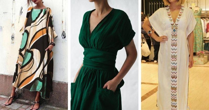 Всего из 1 выкройки — сразу 6 разных моделей платьев