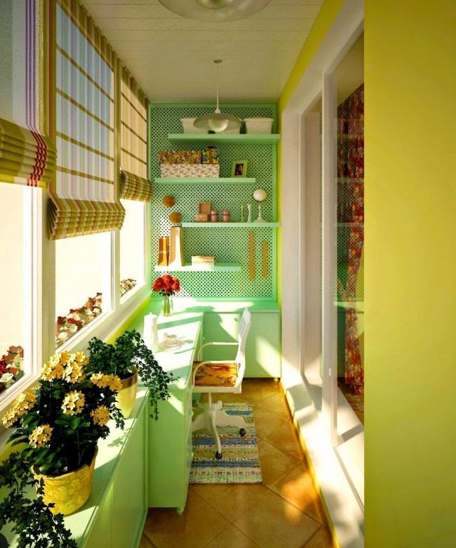 Крутые идеи для вашего балкона