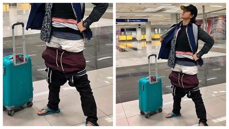Девушка, не пожелавшая платить за дополнительный багаж, покорила Фейсбук