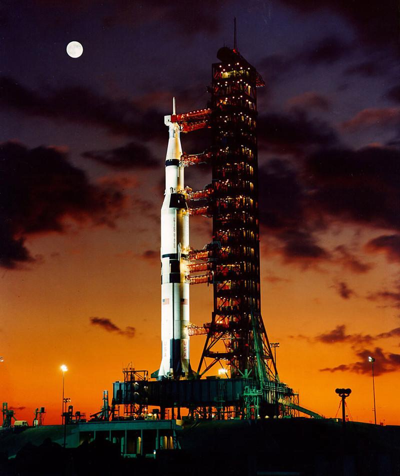 Американцы на Луне: прорыв или афера? американцы, афера, космонавтика, космос, луна