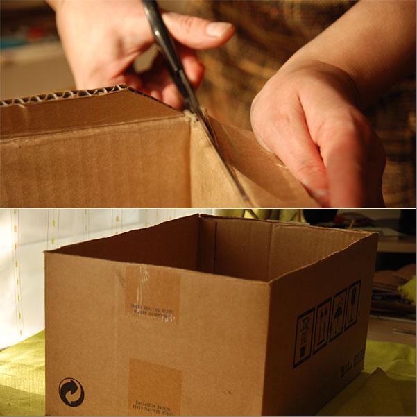 Как самой сделать ящик для хранения вещей