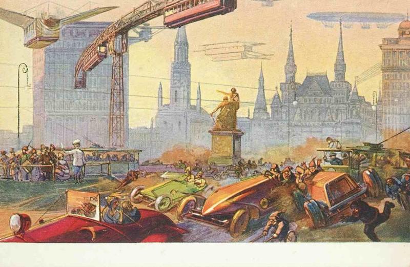 Красная площадь. история, открытки, факты